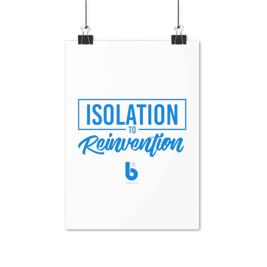 Isolation to Reinvention Poster (EU)
