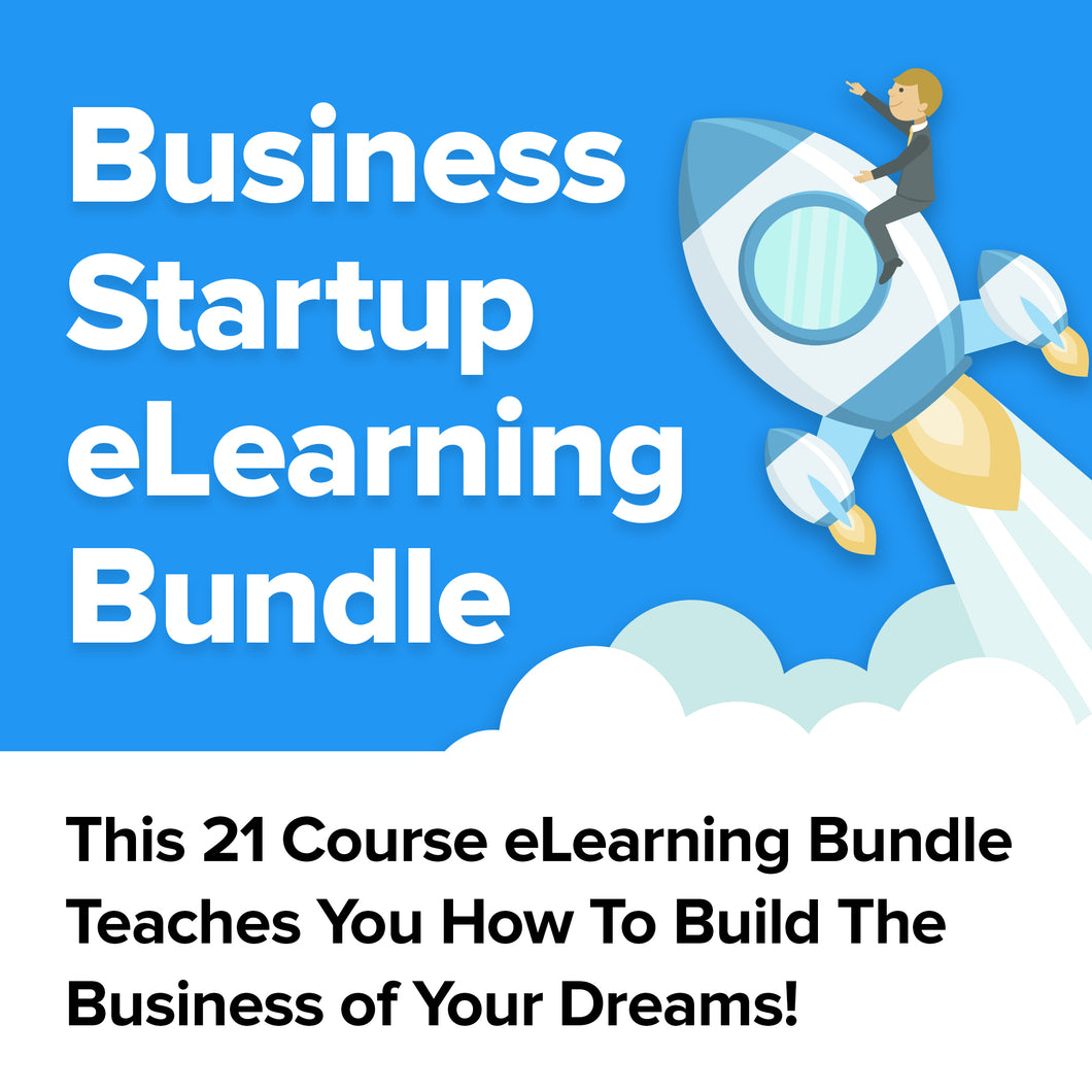 Business Startup eLearning Bundle