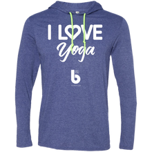 Load image into Gallery viewer, Love Yoga  LS T-Shirt Hoodie