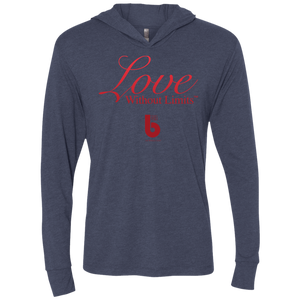 Love Without Limits Unisex Triblend LS Hooded T-Shirt