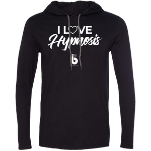 I Love Hypnosis LS T-Shirt Hoodie