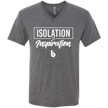 Load image into Gallery viewer, Isolation to Inspiration Men's Triblend V-Neck T-Shirt