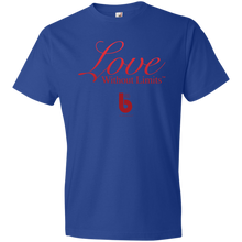 Load image into Gallery viewer, Love Without Limits  Youth Lightweight T-Shirt 4.5 oz