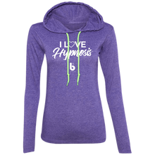 Load image into Gallery viewer, I Love Hypnosis  Ladies' LS T-Shirt Hoodie