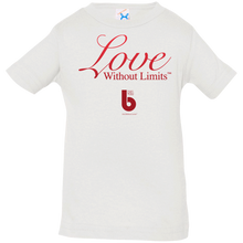 Load image into Gallery viewer, Love Without Limits  Infant Jersey T-Shirt
