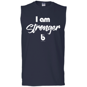 I am Stronger Men's Ultra Cotton Sleeveless T-Shirt