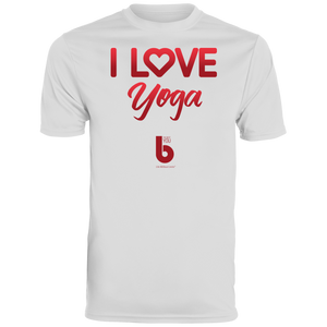 Love Yoga Youth Wicking T-Shirt