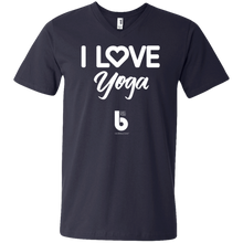 Load image into Gallery viewer, Love Yoga Men's Printed V-Neck T-Shirt
