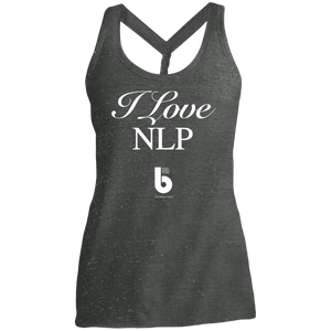 Love NLP  Ladies' Cosmic Twist Back Tank