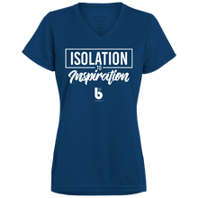 Load image into Gallery viewer, Isolation to Inspiration Ladies' Wicking T-Shirt