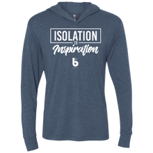 Load image into Gallery viewer, Isolation to Inspiration Unisex Triblend LS Hooded T-Shirt
