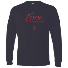 Load image into Gallery viewer, Love Without Limits Lightweight LS T-Shirt