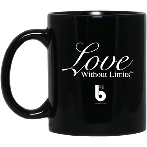 Love Without Limits BM11OZ 11 oz. Black Mug