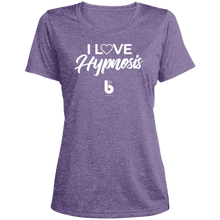 Load image into Gallery viewer, I Love Hypnosis Ladies' Heather Dri-Fit Moisture-Wicking T-Shirt