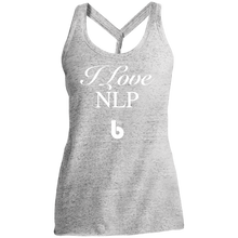 Load image into Gallery viewer, Love NLP  Ladies' Cosmic Twist Back Tank