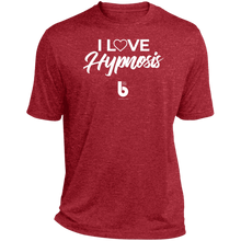Load image into Gallery viewer, I Love Hypnosis Heather Dri-Fit Moisture-Wicking T-Shirt