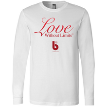Load image into Gallery viewer, Love Without Limits Men's Jersey LS T-Shirt