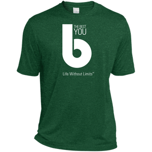 The Best You Tall Heather Dri-Fit Moisture-Wicking T-Shirt