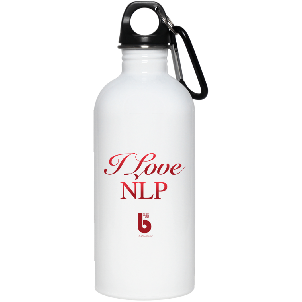 I Love NLP  Stainless Steel Water Bottle