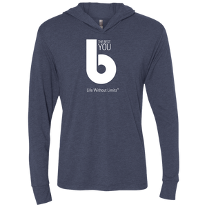 The Best You Unisex Triblend LS Hooded T-Shirt
