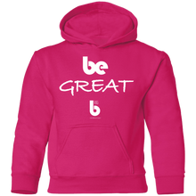 Load image into Gallery viewer, Be Great Youth Pullover Hoodie