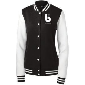 The Best You LST270 Women's Fleece Letterman Jacket