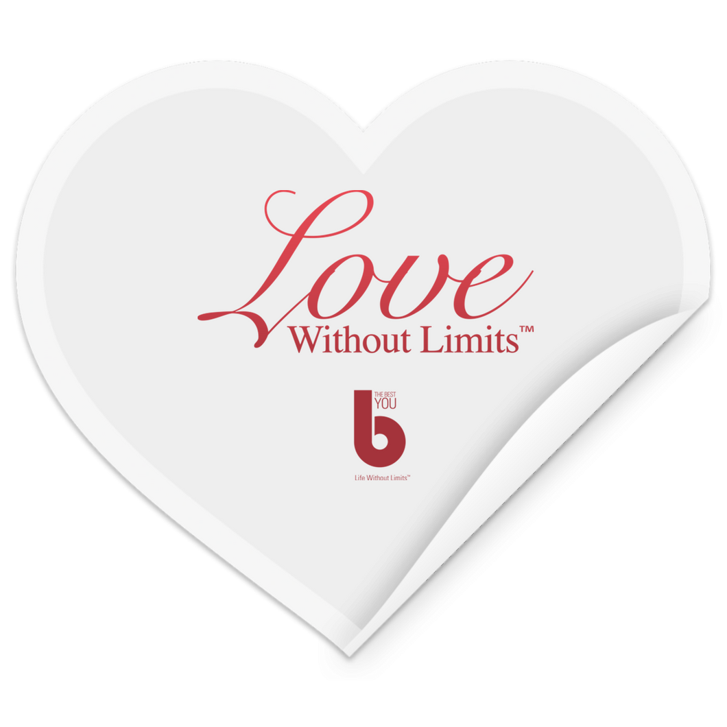 Love Without Limits STHE Heart Sticker