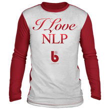 Load image into Gallery viewer, I Love NLP Sublimated Long Sleeve Shirt