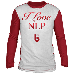 I Love NLP Sublimated Long Sleeve Shirt