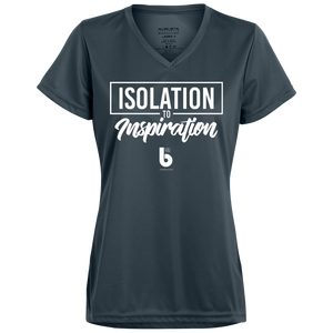 Isolation to Inspiration Ladies' Wicking T-Shirt