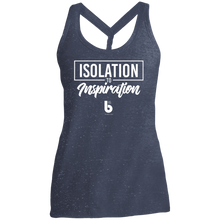 Load image into Gallery viewer, Isolation to Inspiration Ladies' Cosmic Twist Back Tank
