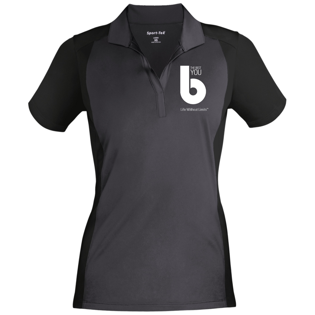 The Best You LST652 Ladies' Colorblock Sport-Wick Polo