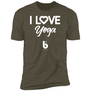 Love Yoga Premium Short Sleeve T-Shirt