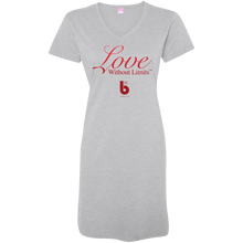 Load image into Gallery viewer, Love Without Limits  Ladies' V-Neck Fine Jersey Cover-Up