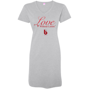 Love Without Limits  Ladies' V-Neck Fine Jersey Cover-Up