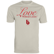 Load image into Gallery viewer, Love Without Limits  Men's Wicking T-Shirt