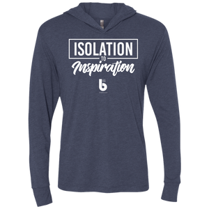 Isolation to Inspiration Unisex Triblend LS Hooded T-Shirt