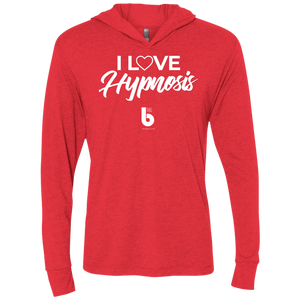 I Love HypnosisUnisex Triblend LS Hooded T-Shirt