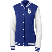 Load image into Gallery viewer, The Best You LST270 Women's Fleece Letterman Jacket