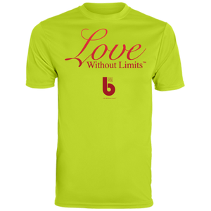 Love Without Limits  Men's Wicking T-Shirt