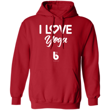 Load image into Gallery viewer, Love Yoga Pullover Hoodie 8 oz.