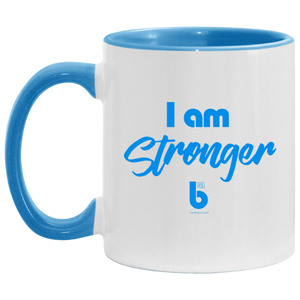 I am Stronger  Accent Mug
