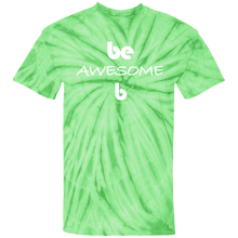 Load image into Gallery viewer, Be Awesome Cotton Tie Dye T-Shirt