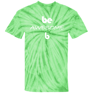 Be Awesome Cotton Tie Dye T-Shirt