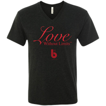 Load image into Gallery viewer, Love Without Limits  Men's Triblend V-Neck T-Shirt