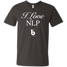 Load image into Gallery viewer, Love NLP Men's Printed V-Neck T-Shirt