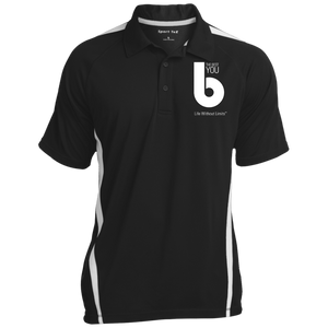 The Best You  Men's Colorblock 3-Button Polo