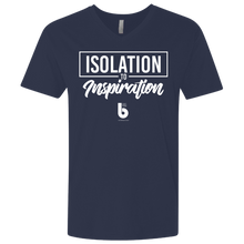 Load image into Gallery viewer, Isolation to Inspiration Men's Premium Fitted SS V-Neck