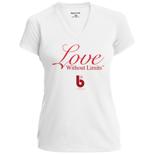Love Without Limits Ladies' Performance T-Shirt
