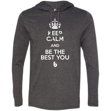 Load image into Gallery viewer, Keep Calm  LS T-Shirt Hoodie